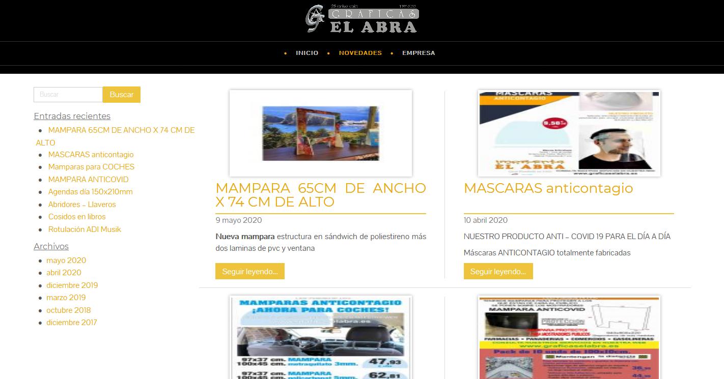 Blog Gráficas El Abra