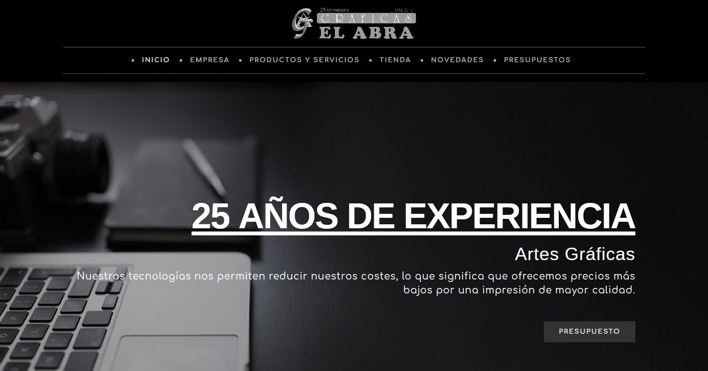 Web Oficial Gráficas El Abra