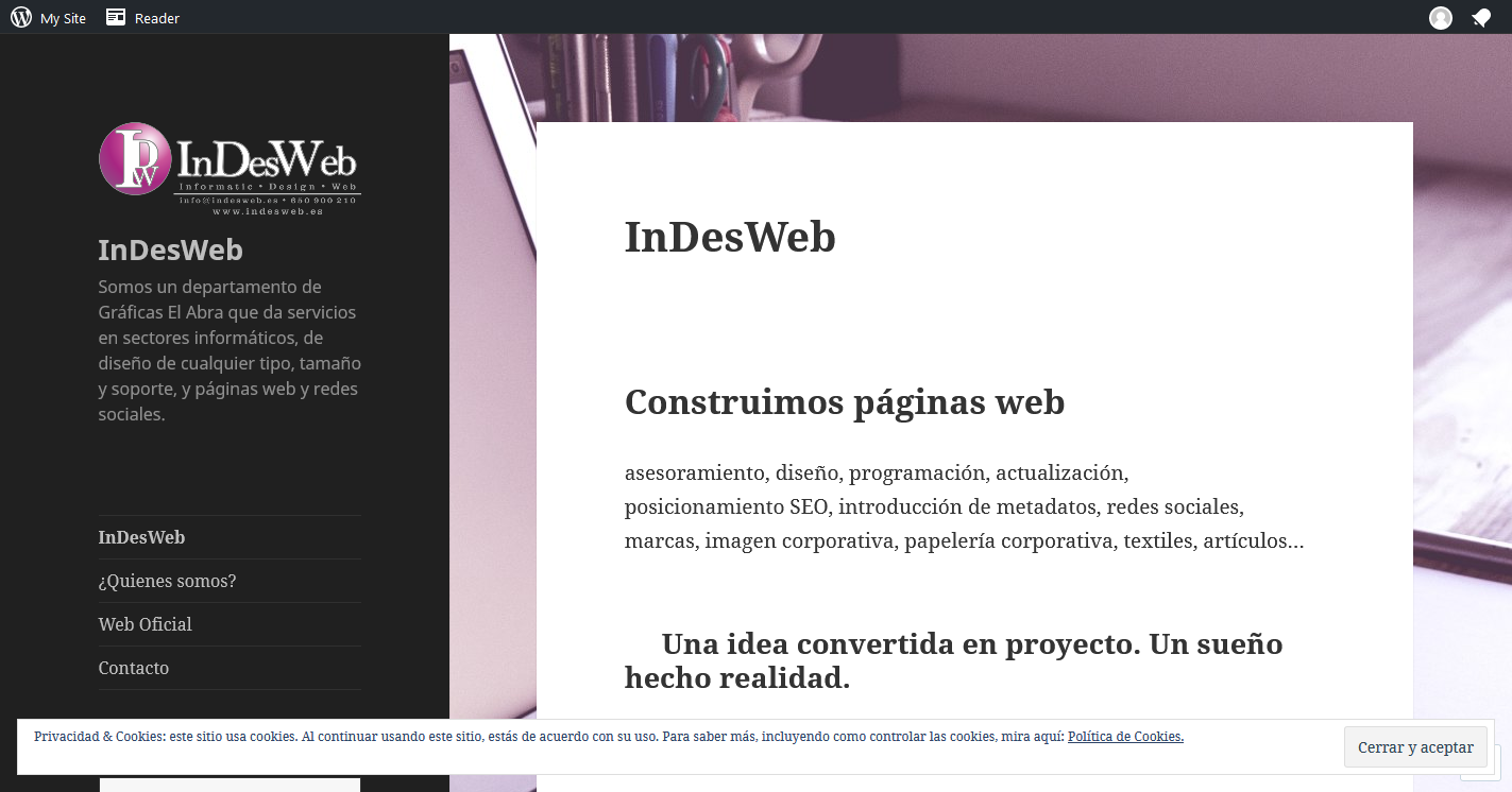 InDesWeb WordPress